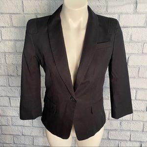 Ann Taylor 3/4 Length Sleeve Blazer Jacket